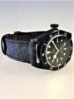 Tudor, Black Bay Dark, Lederband Vintage Style, Ref. 79230DK