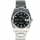 Rolex Oyster Perpetual Datejust, 34 mm, Stahl/Weißgold, ungetragen