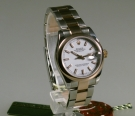 Rolex Oyster Perpetual Datejust, medium, Stahl-Ros?gold, 31 mm, Zustand 0-1, wie neu