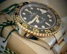 Rolex Oyster Perpetual GMT-Master II, Stahl Gold, 40 mm, ungetragen