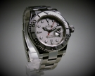Rolex Oyster Perpetual Yachtmaster Stahl/Platin (Rolesium), 40 mm, neuwertig