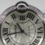 Cartier Ballon Bleu, Mittleres Modell 18 Karat Weißgold, neu/ungetragen