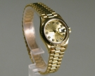 Rolex Oyster Perpetual  Datejust, Lady, 18 K. Gelbgold 26 mm, Zustand sehr gut (1)