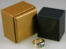 Smaragdring, 750/- Gelb- und Weissgold, punziert, 23,4 g